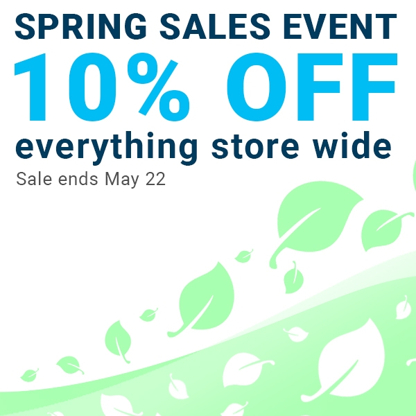 Spring Sales Event - Extended!