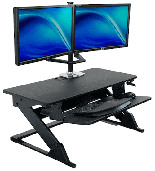 Best Standing Desk Converters And Risers Imovr