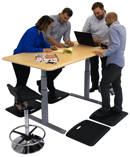 AdjustableHeight Conference Tables - Height adjustable meeting table