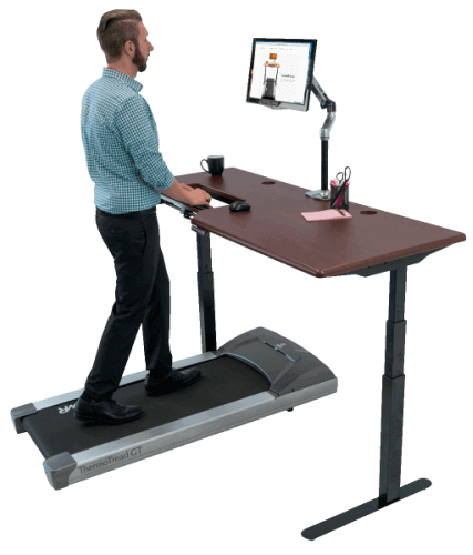 Treadmill For Desk At Work: SteadyTypeⓇ Treadmill Desks