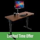 Energize Compact Standing Desk (24″ depth)