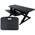 "ZipLift+ HD 42"" Standing Desk Converter w/ Free EverMat"