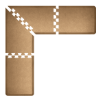 L-Shaped Puzzle Piece Standing Mat Hero Image