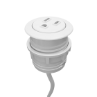 Rondo Micro Grommet-Mounted Power Node (AC Simplex)