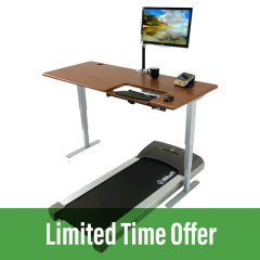 Cascade Treadmill Desk Workstation