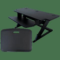 "ZipLift+ HD 42"" Standing Desk Converter w/ Free EverMat"