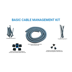 iMovR Basic Cable Management Kit Contents