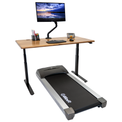 Lander Treadmill Solid Wood Top Bundle Hero