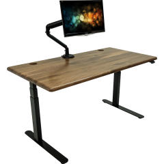 Lander Desk with Solid Wood Top