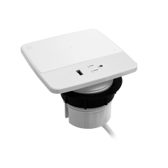 Spectra Grommet-Mounted Qi Power Pad