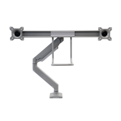 Front view frame of ZipView Unison Dual Monitor Arm with Handle