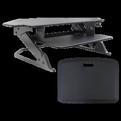 "ZipLift+ Corner 42"" Standing Desk Converter"