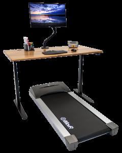 Lander Treadmill Solid Wood Top Bundle Hero