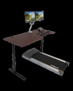 iMovR Lander Treadmill Desk w/ SteadyType - Hero Shot