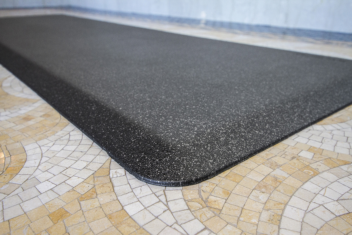 EcoLast Premium Standing Mat in Onyx Granite