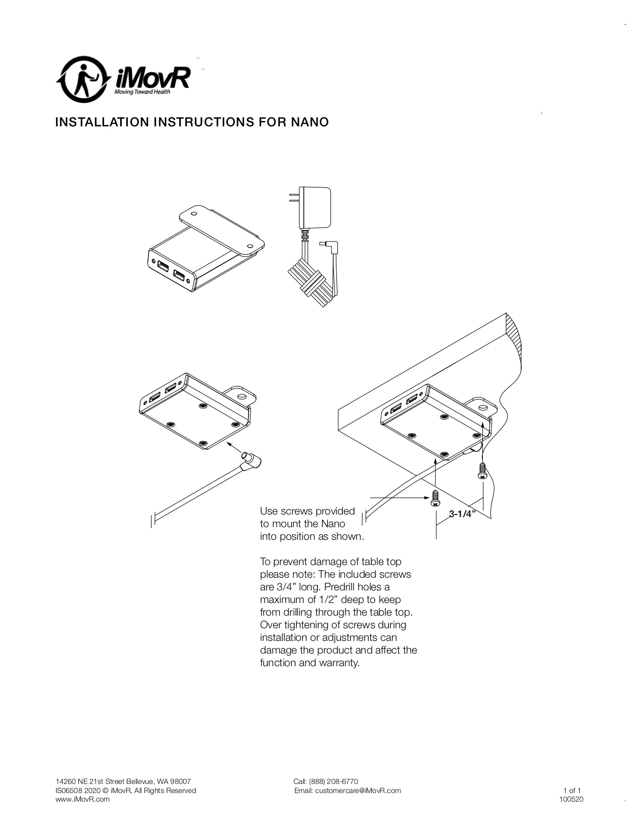 Nano Instillation Instructions