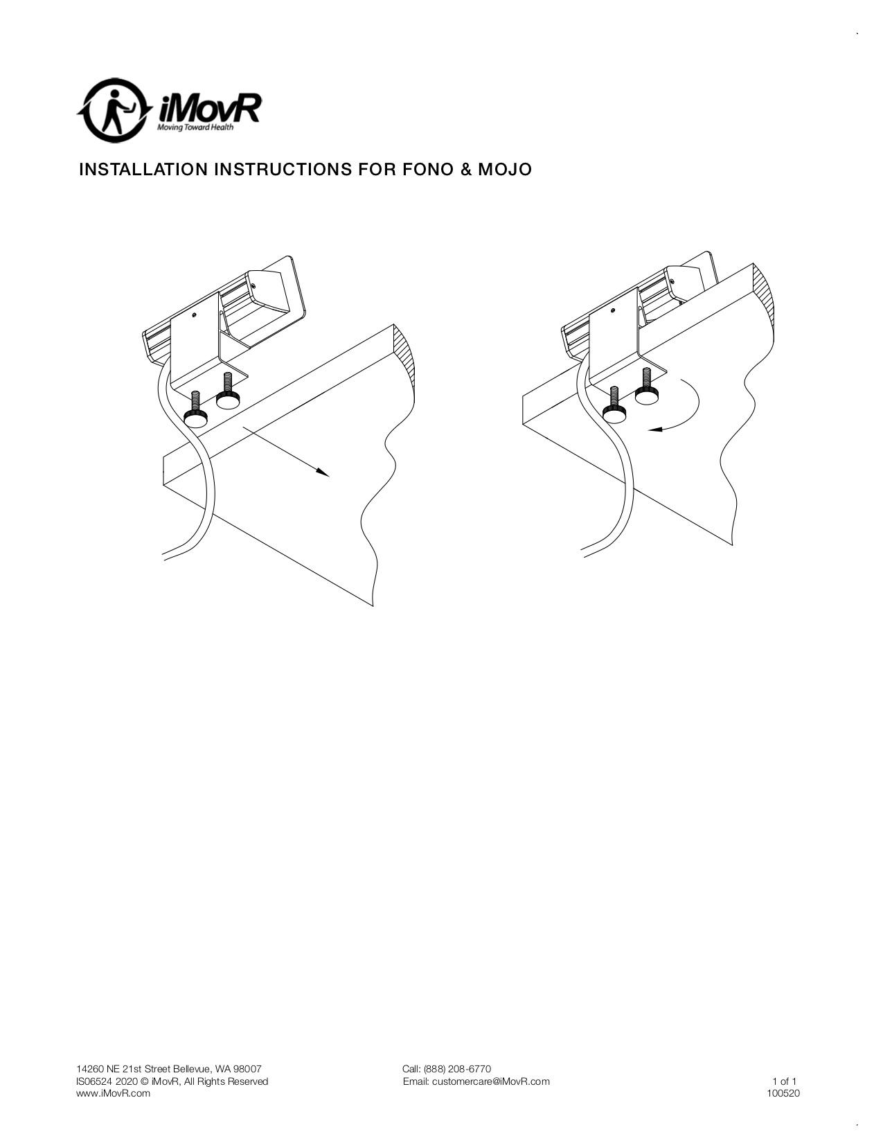 Fono Instillation Instructions