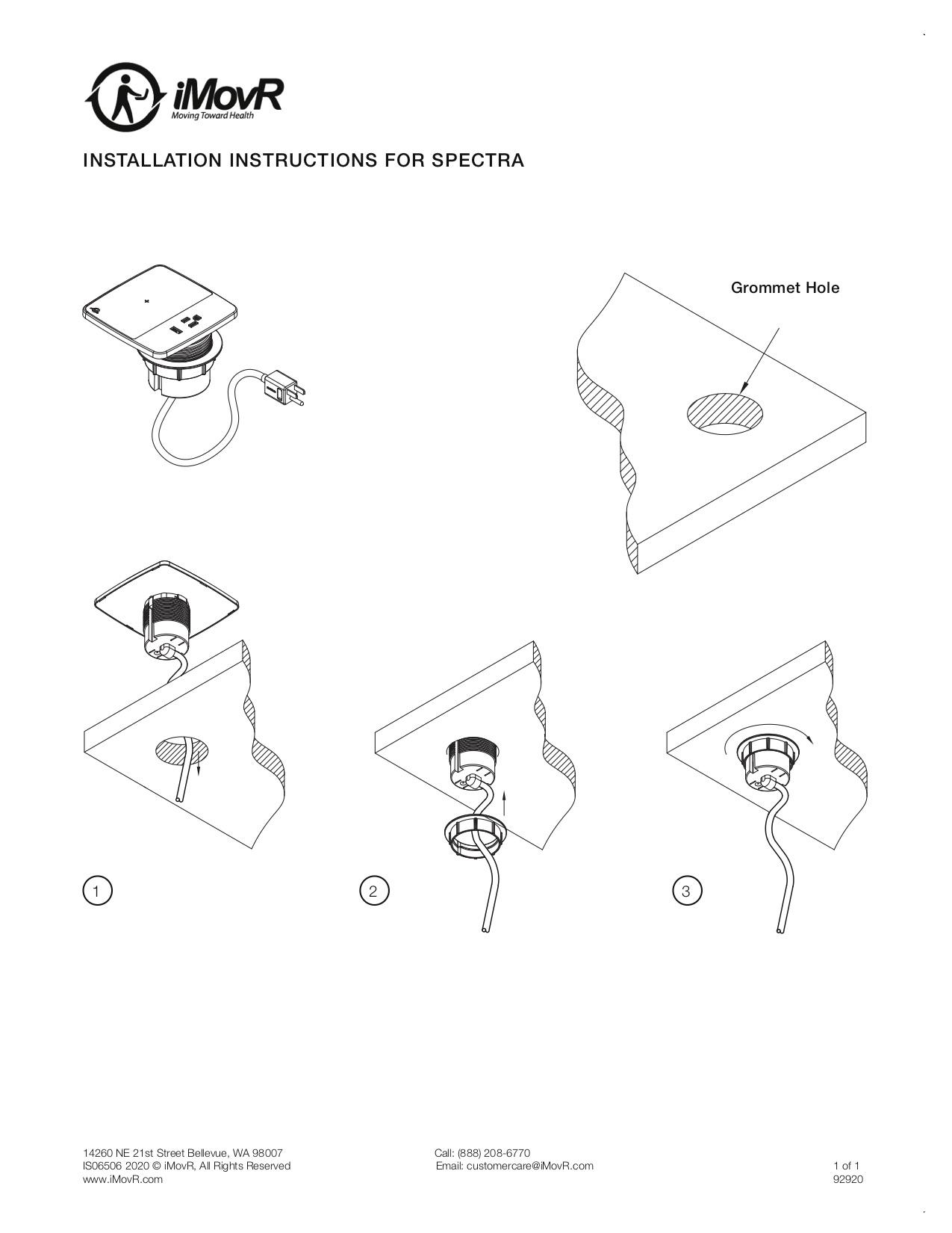 Spectra Instillation Instructions