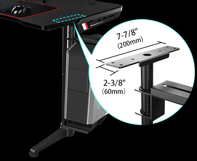 iMovR+Eureka CPU Holder 360 mounting bracket detail.