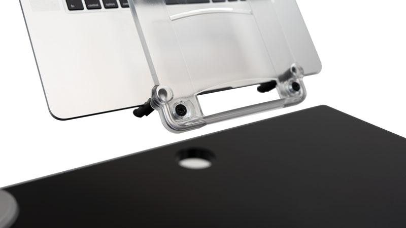 iMovR Laptop Mount Tray - Easy and Secure Repositioning