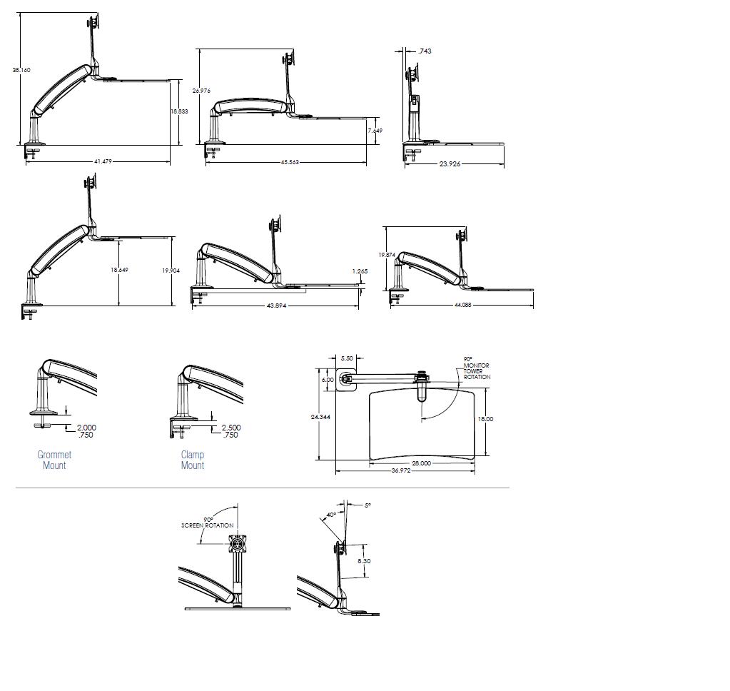Cadence Express Specs Diagram