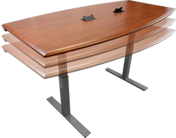 Adjustable Height Conference Tables