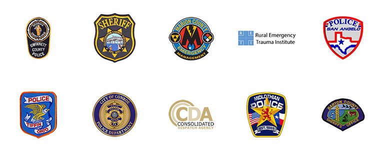 Emergency Services Customers' Logos