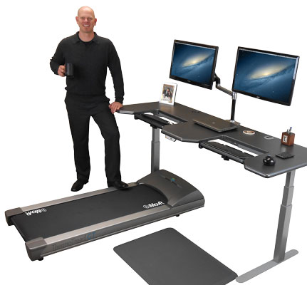 Buy The Best Treadmill Desks U0026 Under Desk Treadmills   IMovR