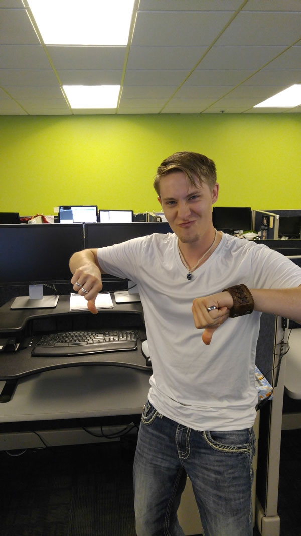 Jeremy replaces Varidesk with iMovR ZipLift