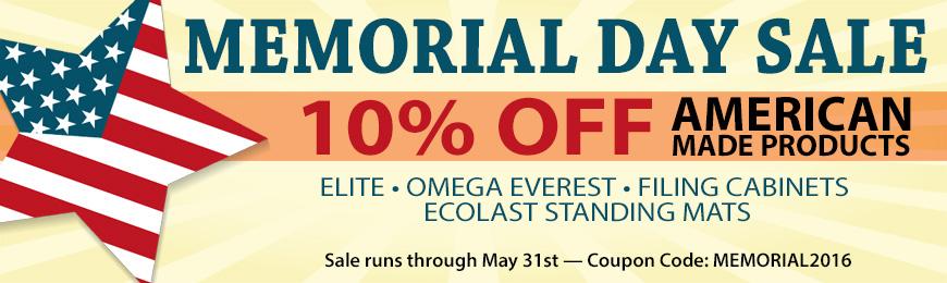 iMovR Memorial Day Sale