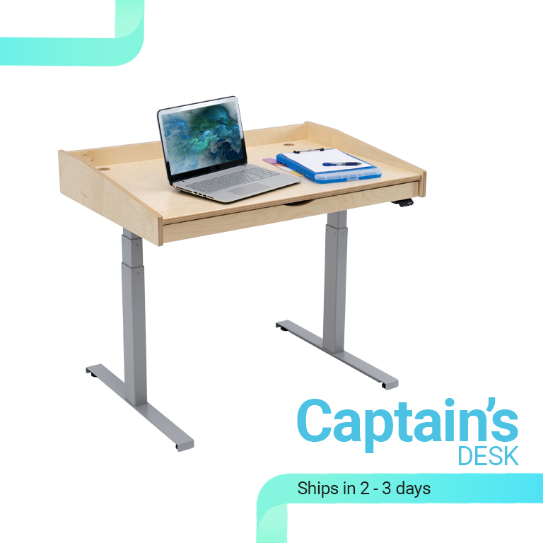 The Captain's Standing Desk
