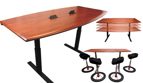 Adjustable-Height Tables & Conference Tables