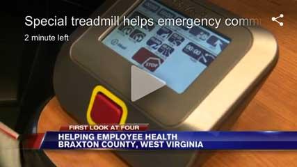iMovR Provides 911 Emergency Call Center Treadmill
