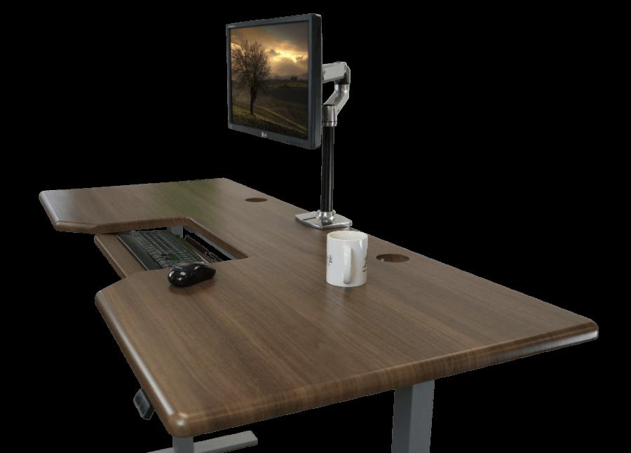 Olympus Omega 3D laminated desktop