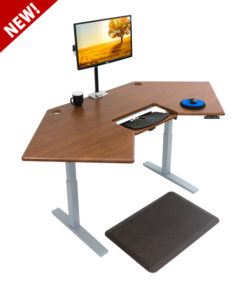 sit stand corner desk