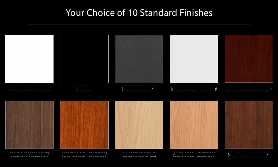 iMovR Elite Desktop Color Options