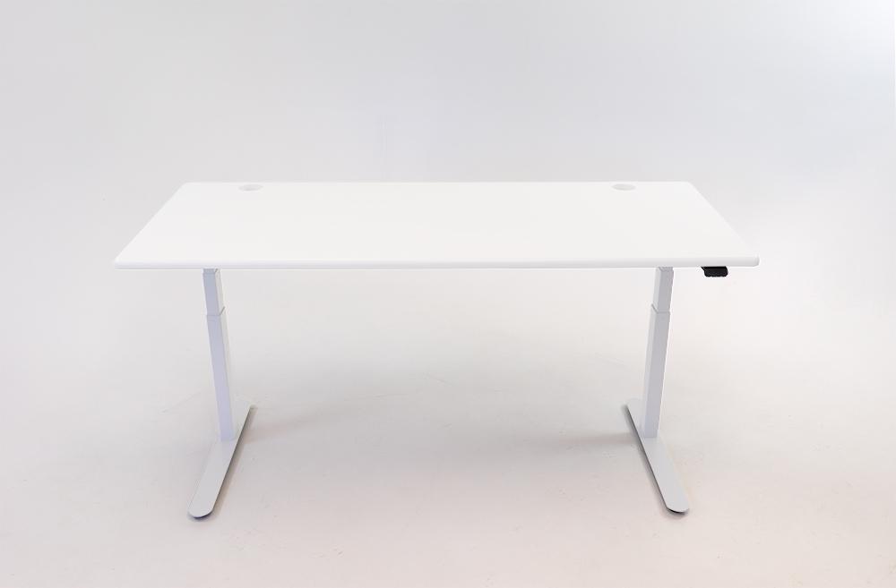 A Designer White desktop on a white base.