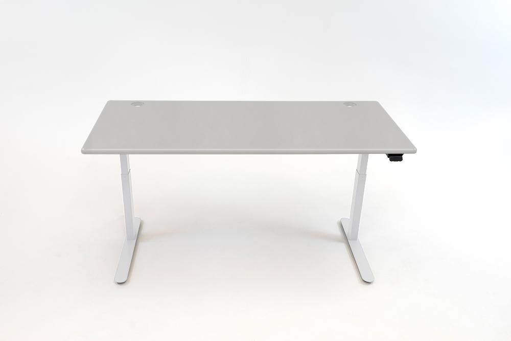 A Fashion Gray desktop on a white base.