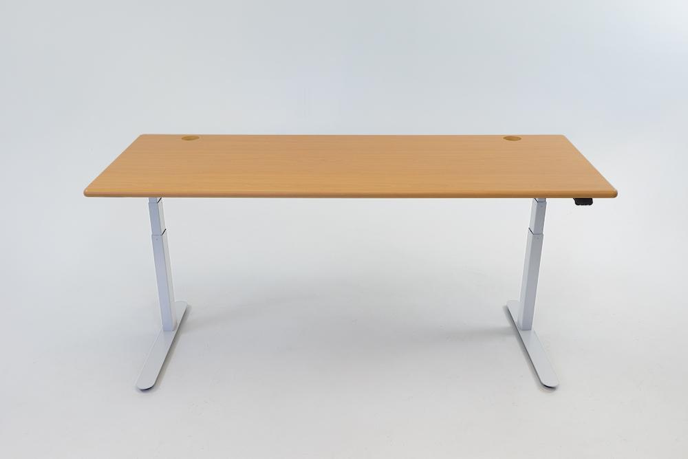 An Almond Cherry desktop on a white base.