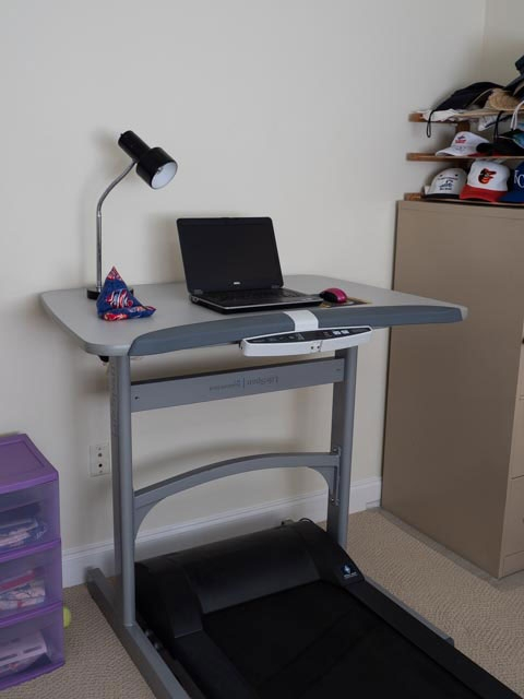 This treadmill desk is getting upgraded to a ThermoTread GT