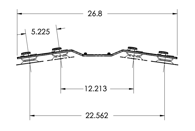 Cadence Dual Monitor Bar Dimensions