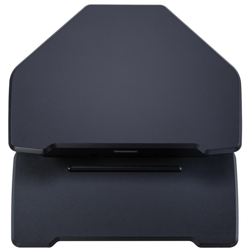 iMovR+Eureka 28″ Z-Lift Corner Standing Desk Converter - Black