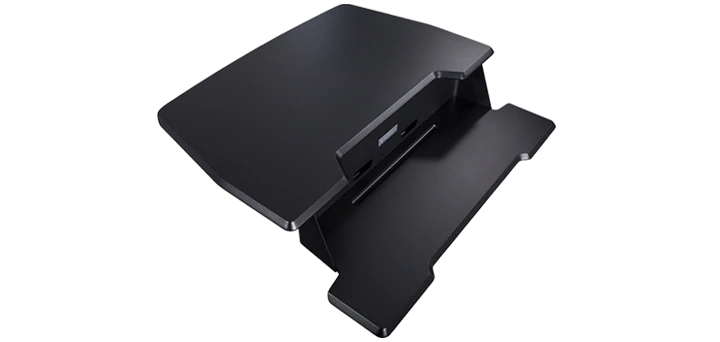 "iMovR+Eureka 31"" Single-Arm Z-Lift Standing Desk Converter - Black"