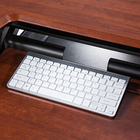 "iMovR+Eureka 36"" Z-Lift Standing Desk Converter - Ledge for Keyboard"