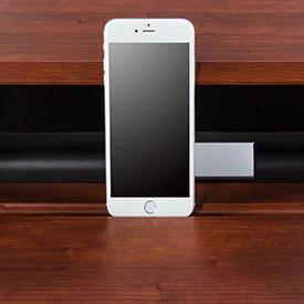 """iMovR+Eureka 36"""" Z-Lift Standing Desk Converter - Mobile Device Slot"""