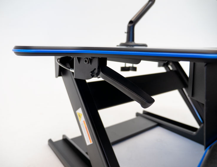 "iMovR+Eureka 46"" Z-Lift Standing Desk Converter - Silent Adjustment"