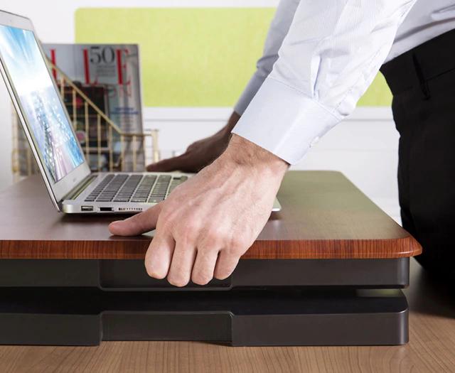 """iMovR+Eureka 26"""" Laptop Riser - Simple to Use"""