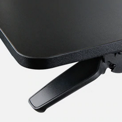 This single handle on the iMovR+Eureka 32″ X-Lift Sit-Stand Desk Converter controls its vertical movement.