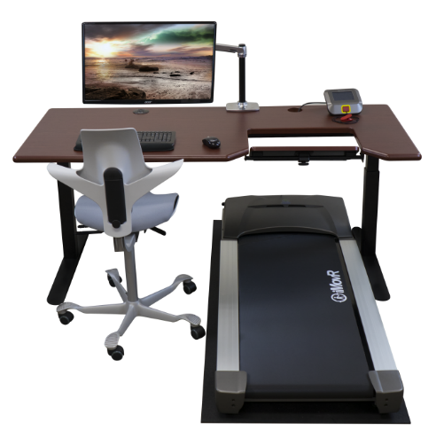 iMovR Thermotread Everest sit-stand-walk desk