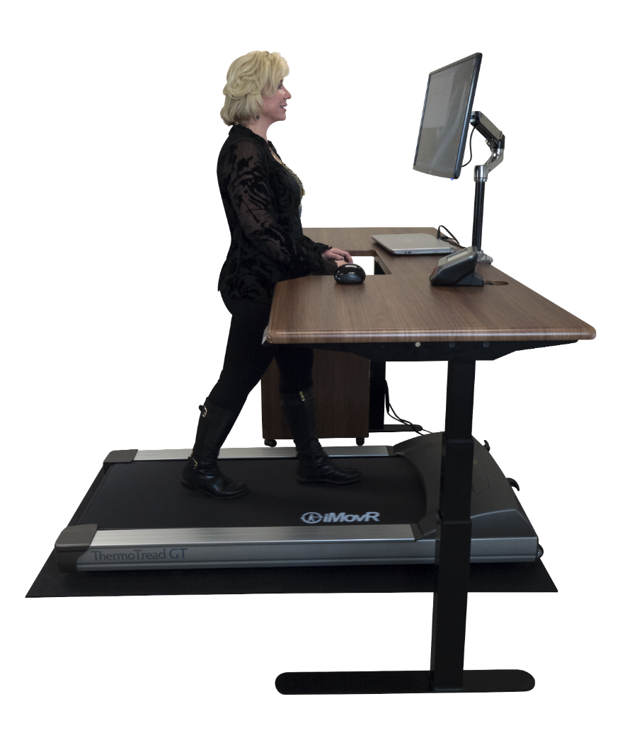 iMovR treadmill desk